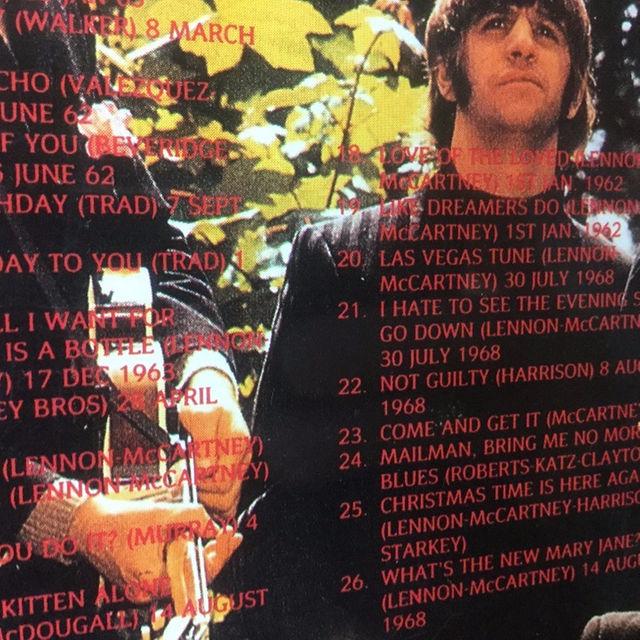 ビートルズ The Ultimate Unreleased Collection エンタメ/ホビーのCD(ポップス/ロック(洋楽))の商品写真