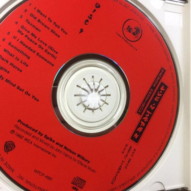ジョージハリソン 「 Live In Japan」2CD エンタメ/ホビーのCD(ポップス/ロック(洋楽))の商品写真
