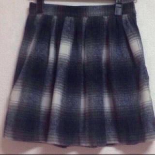 マーキュリーデュオ(MERCURYDUO)のチェックスカート♡新品未使用(ミニスカート)