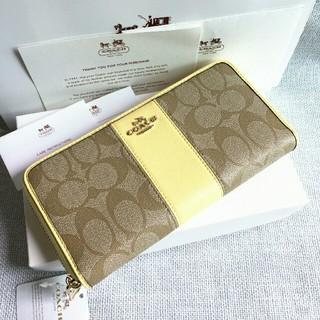 detailed look 08d5e f9fc1 安いCOACHコーチ長財布レディース財布の通販商品を比較 ...