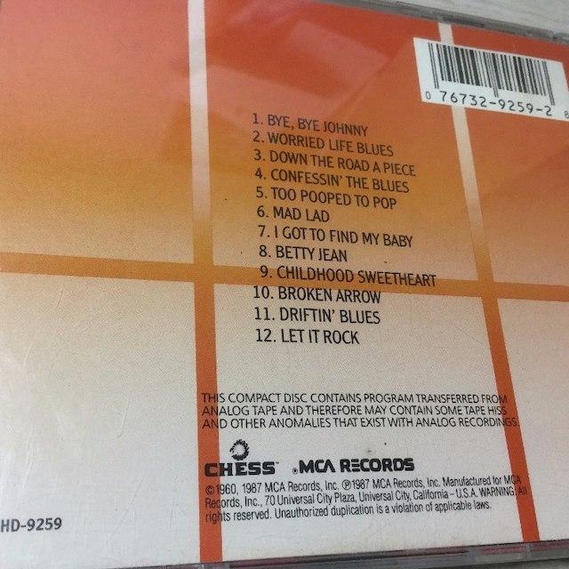 チャックベリー Chuck Berry  Rockin' At The Hops エンタメ/ホビーのCD(ポップス/ロック(洋楽))の商品写真
