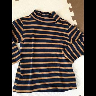 ムジルシリョウヒン(MUJI (無印良品))の無印良品 80サイズ ボーダーシャツ(Tシャツ)