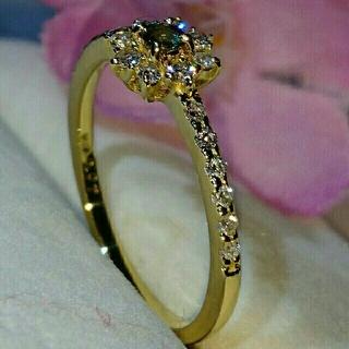 GOLD DIA 様専用★K18ダイヤモンドリング(リング(指輪))