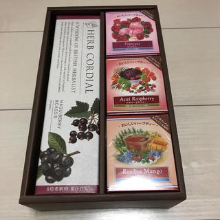 セイカツノキ(生活の木)のコーディアル&ハーブティー3個セット箱付き新品未開封✨(その他)