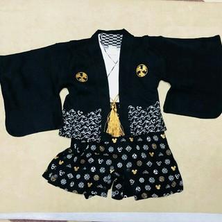 ディズニー(Disney)のミッキー★袴ロンパース(和服/着物)