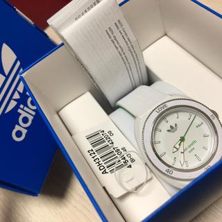 アディダス(adidas)のアディダス adidas スタンスミス  レディース 腕時計 ホワイト/グリーン(腕時計)