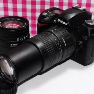 ニコン(Nikon)のすみたん様専用 WiFi対応SD+ミニ三脚付き(デジタル一眼)