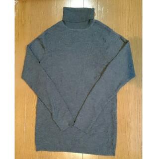 ムジルシリョウヒン(MUJI (無印良品))のタートルネック セーター(ニット/セーター)
