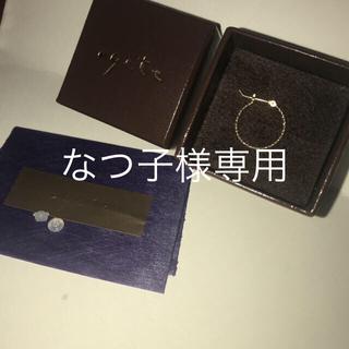 アガット(agete)のなつ子様専用(ピアス(片耳用))