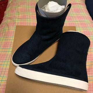 ムジルシリョウヒン(MUJI (無印良品))の新品無印良品ボアブーツ Mサイズ(ブーツ)