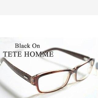 テットオム(TETE HOMME)の売れ切れました定価7900円未使用TETE HOMME* 紫外線カット率99% (サングラス/メガネ)