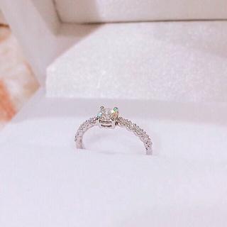 【3Excellent Dカラー】プラチナ ダイヤモンドリング(リング(指輪))