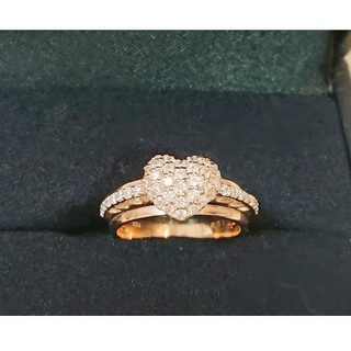 ポンテヴェキオ(PonteVecchio)のポンテヴェキオ リング【美品】K18PG ダイヤモンド0.51(リング(指輪))