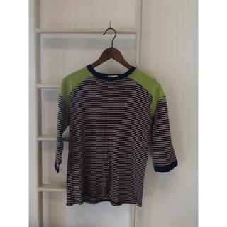 エイリアス(ALIAS)のボーダーカットソー ALIAS 七分袖(Tシャツ/カットソー(七分/長袖))