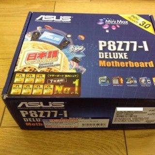 エイスース(ASUS)の【新品】P8Z77-I DELUXE Mini-ITX LGA1155(PC周辺機器)