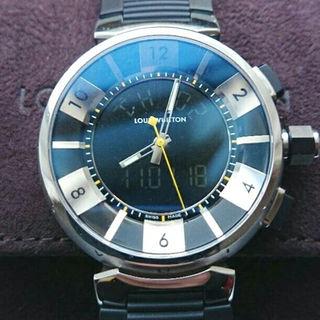 ルイヴィトン(LOUIS VUITTON)のルイヴィトン 腕時計 タンブール イン・ブラック(その他)