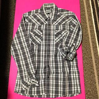 シマムラ(しまむら)のmen's チェック長袖シャツ(シャツ)