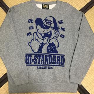 ハイスタンダード(HIGH!STANDARD)のhi- standard AIRJAM2016 パーカー(ミュージシャン)