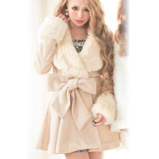 リュクスローズ(Luxe Rose)の新品♡リュクスローズ♡コート(毛皮/ファーコート)