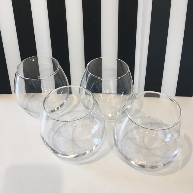 大正浪漫硝子のグラス