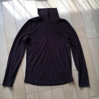 ユニクロ(UNIQLO)のヒートテックタートルネックシャツ(カットソー(長袖/七分))