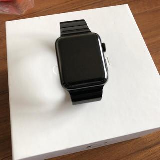 アップルウォッチ(Apple Watch)のアップルウォッチ シリーズ2 42mm リンクブレスレット おまけ付(スマートフォン本体)