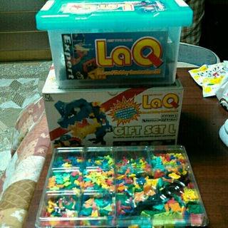 ゆかお様専用LaQ 期間限定クリスマスギフト中古 送料込み購入OK(知育玩具)