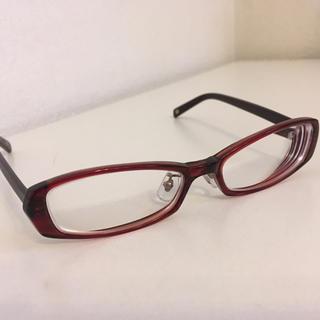 イーストボーイ(EASTBOY)のイーストボーイ 眼鏡 メガネ 新品未使用 赤(サングラス/メガネ)