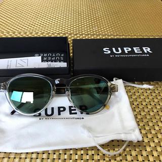 スーパー(SUPER)の新品  SUPER  サングラス べっ甲(サングラス/メガネ)