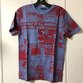 ミルクボーイ(MILKBOY)のミルクボーイ MILKBOY 総柄 Tシャツ S 新品未使用(Tシャツ/カットソー(半袖/袖なし))