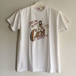 キャリー(CALEE)のCALEE半袖レディープリントTシャツ(その他)