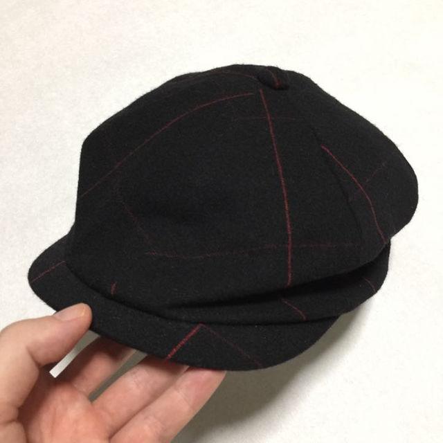 CALEE(キャリー)の定価14800円!CALEEキャスケット帽子 メンズの帽子(その他)の商品写真