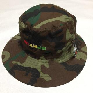 ステューシー(STUSSY)の新品STUSSY迷彩柄バケットハット帽子(その他)