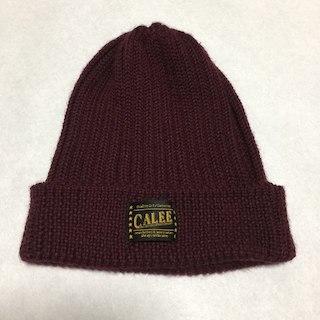 キャリー(CALEE)のCALEE 折り返しニットキャップ 帽子(その他)