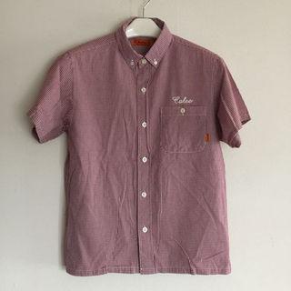 キャリー(CALEE)のCALEE半袖チェックシャツ(シャツ)