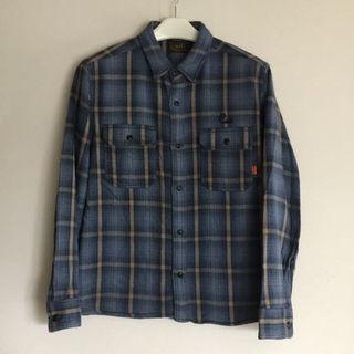 キャリー(CALEE)のCALEE長袖チェックシャツ(シャツ)