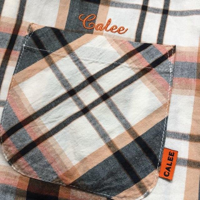 CALEE(キャリー)の定価17280円!CALEEキャリー長袖チェック柄シャツ メンズのトップス(シャツ)の商品写真