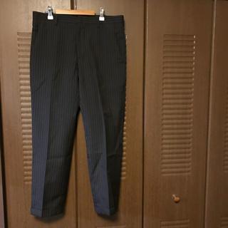 プラダ(PRADA)の17ss PRADA gray × orange stripe slacks(スラックス)