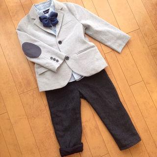 ラルフローレン(Ralph Lauren)の♡H&MとZARAジャケパン3点セット七五三フォーマル♡男児100(ドレス/フォーマル)