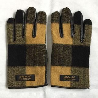 ネイバーフッド(NEIGHBORHOOD)のNEIGHBORHOODネイバーフッド レザーグローブ高級手袋(手袋)