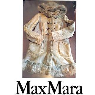 マックスマーラ(Max Mara)の値下げ!!早い者勝ち!!♡Max Mara♡ムートンコート 正規品(毛皮/ファーコート)