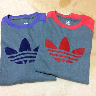 アディダス(adidas)のロングTシャツ 2枚セット(Tシャツ(長袖/七分))