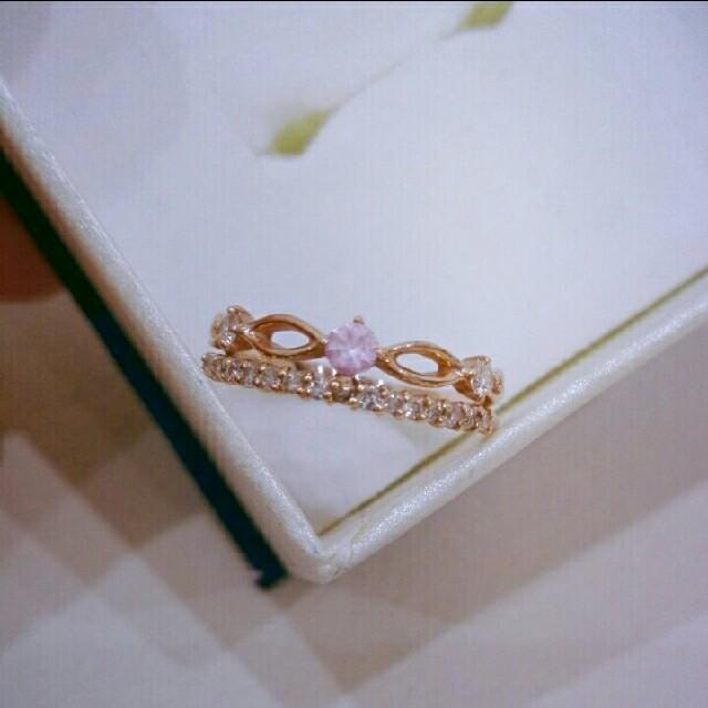 STAR JEWELRY(スタージュエリー)のピンキーリング ピンクサファイヤ レディースのアクセサリー(リング(指輪))の商品写真