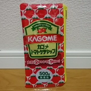 カゴメ(KAGOME)のみー様専用☆リメイクポーチ カゴメ トマトケチャップ(ポーチ)
