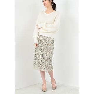 デミルクスビームス(Demi-Luxe BEAMS)のデミルクスビームス♡レースタイトスカート(ひざ丈スカート)