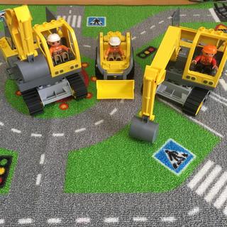 レゴ(Lego)の値下げ LEGO 働く車3点セット(電車のおもちゃ/車)