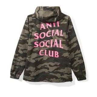 アンチ(ANTI)のAnti Social Social Club EZ Jacket Lサイズ(ナイロンジャケット)