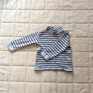 ムジルシリョウヒン(MUJI (無印良品))の無印 ハイネックロンT 子ども100(Tシャツ/カットソー)