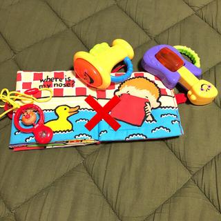 フィッシャープライス(Fisher-Price)の布絵本 赤ちゃん おもちゃ 美品(がらがら/ラトル)