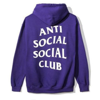 アンチ(ANTI)のAnti Social Social Club PURPLERAIN HOODY(パーカー)